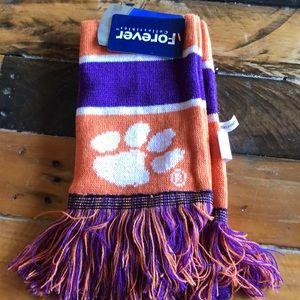 Clemson tigers scarf NWT